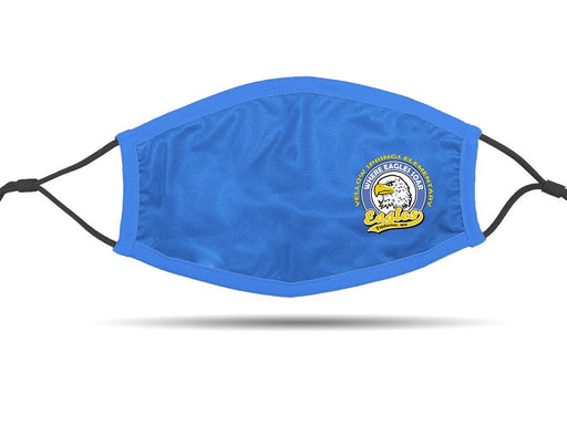 PRE-SALE: Yellow Springs Elementary School (Blue) Cloth Face Cover BEND Active Standard Size (Adult)