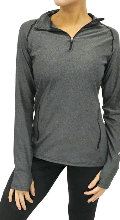 Quarter-Zip Pullover (Charcoal) Pullover BEND Active
