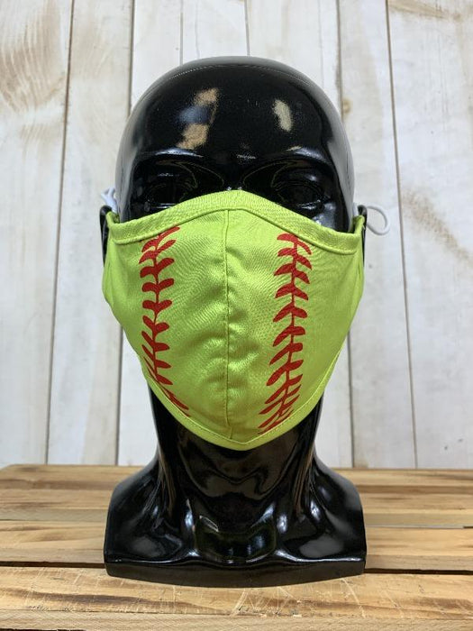 Softball Face Cover with Adjustable Ear Straps Cloth Face Cover BEND Active