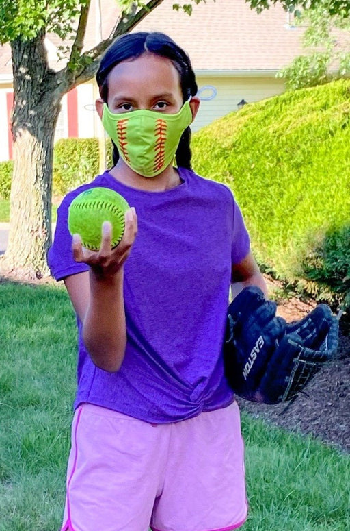 Softball Face Cover