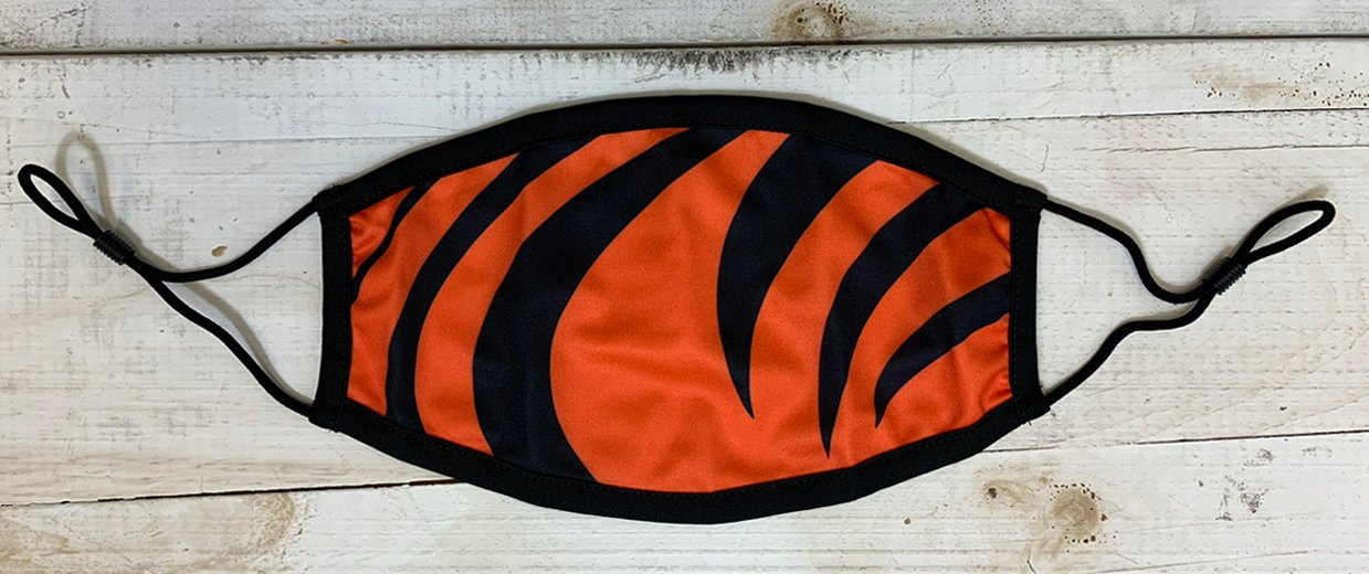 Tiger Designed Face Cover