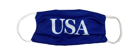 USA Blue Cloth Face Cover with Elastic Ear Straps Cloth Face Cover BEND Active