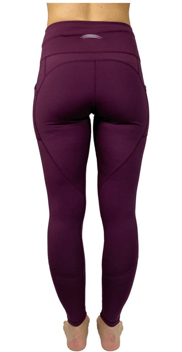 Victory Cell Phone Pocket Legging (Berry) Legging BEND Active
