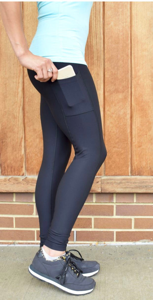 Victory Cell Phone Pocket Legging (Black) Legging BEND Active