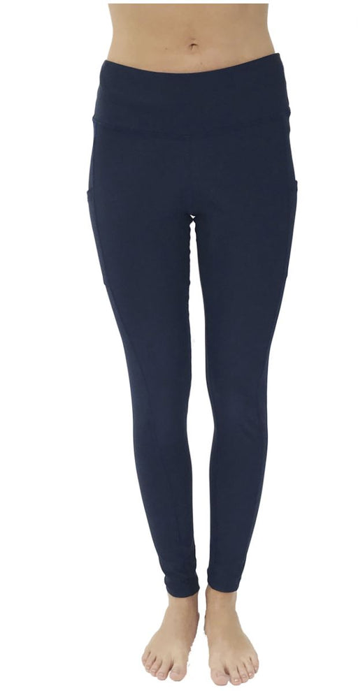 Victory Cell Phone Pocket Legging (Navy Blue) Legging BEND Active