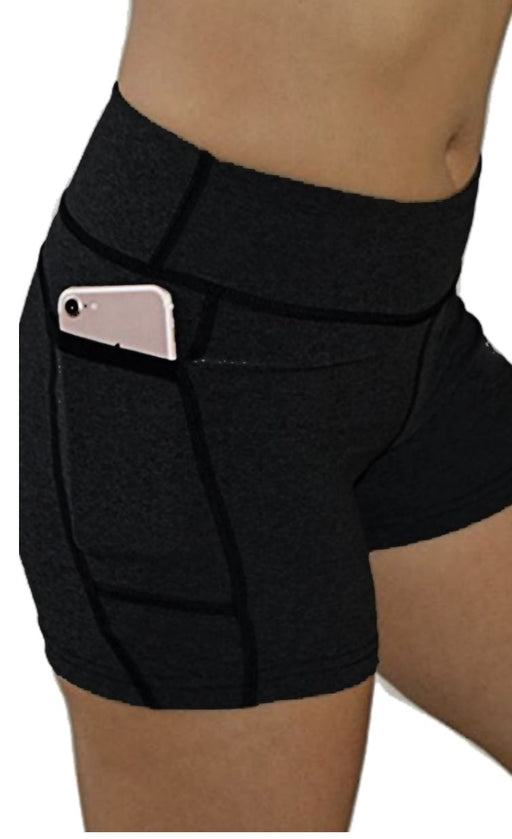Victory Cell Phone Pocket Short (Black) Bottoms BEND Active
