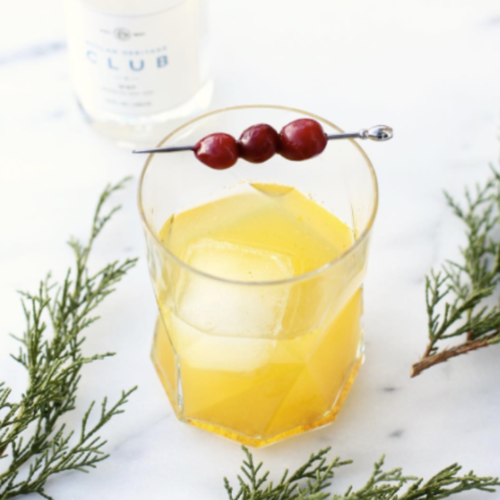 SPICED PINEAPPLE TURMERIC RUM PUNCH