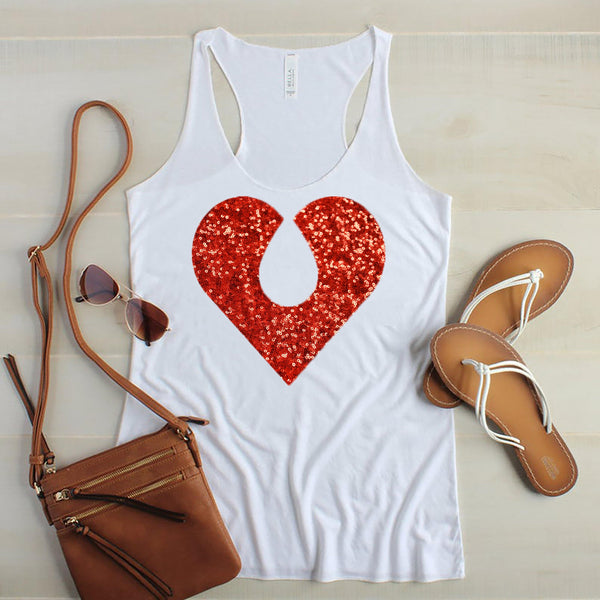 The Quiet Clot Sequin Tank