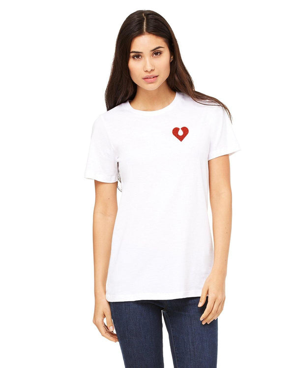 The Quiet Clot Glitter Pocket Tee - Shop Love and Bambii