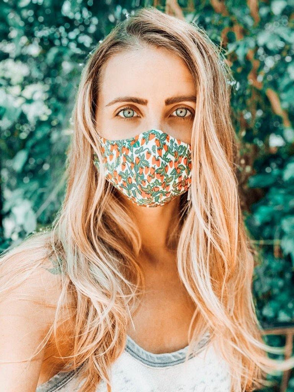 Fitted Cotton Face Mask - Shop Love and Bambii