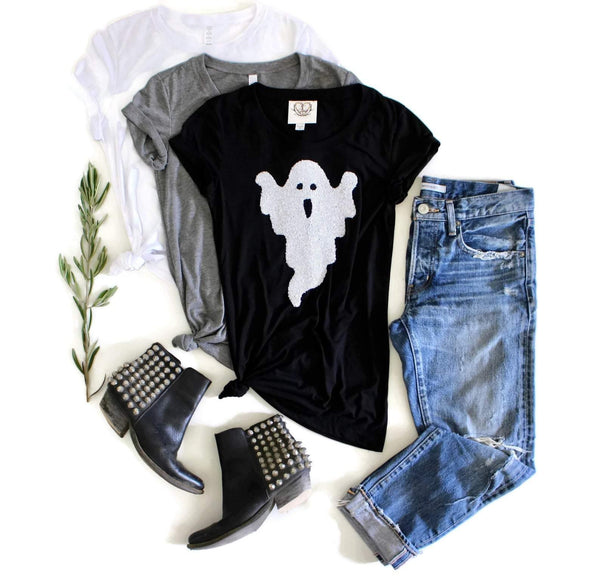 Ghost Tee Shirt - Shop Love and Bambii