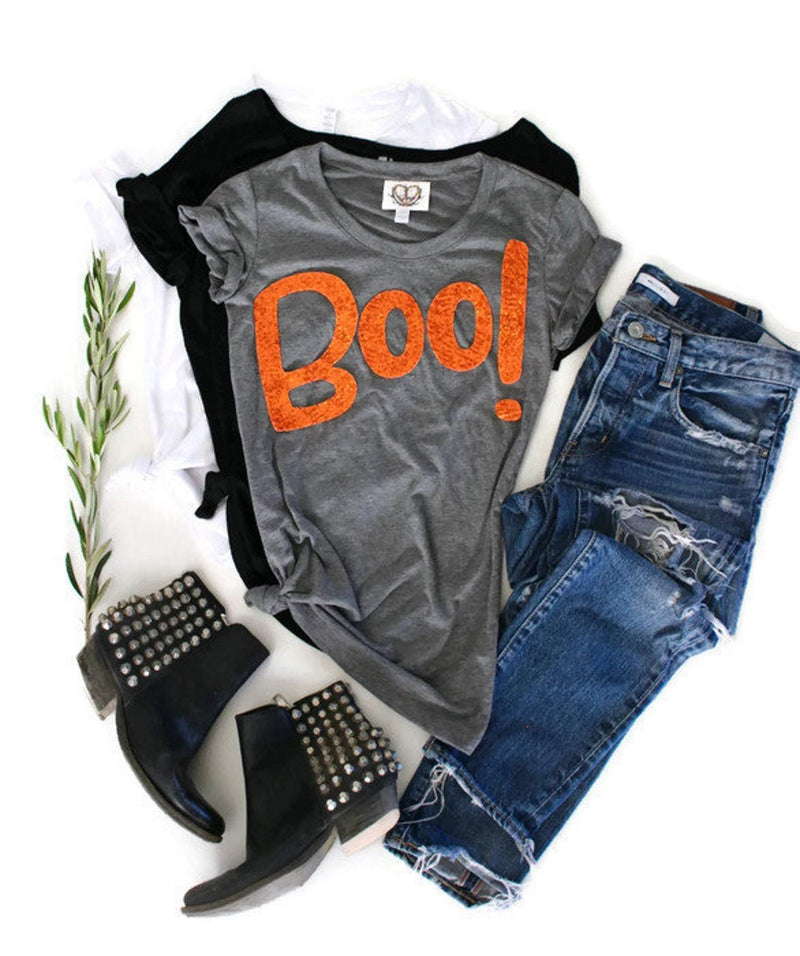 Pre-made Sale Boo Tee Shirt - S - Shop Love and Bambii