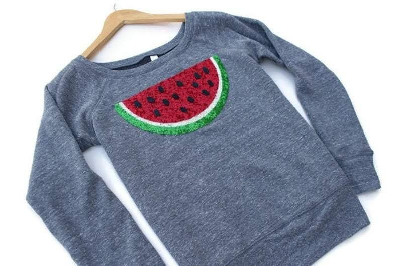 Watermelon Sweatshirt - Shop Love and Bambii