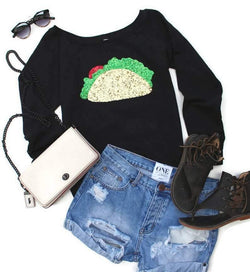 Cinco De Mayo Taco Sweatshirt - Shop Love and Bambii