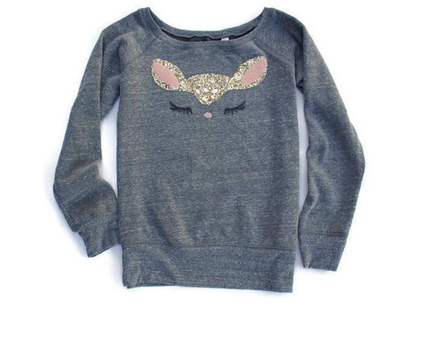 Deer Sweatshirt - Shop Love and Bambii