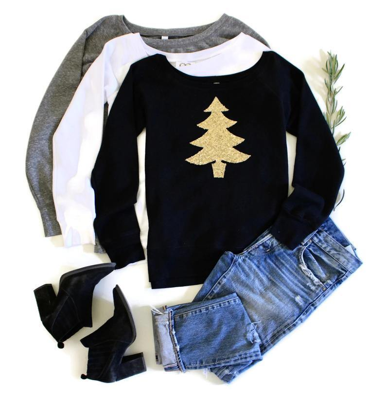 Christmas Tree Sweatshirt