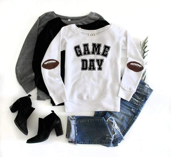 Game Day Football Sweatshirt - Shop Love and Bambii
