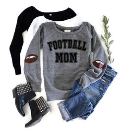 Football Mom Sweatshirt - Shop Love and Bambii