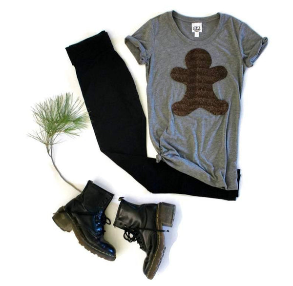 Gingerbread Person Tee Shirt