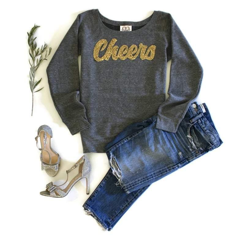 Cheers Sweatshirt - Shop Love and Bambii