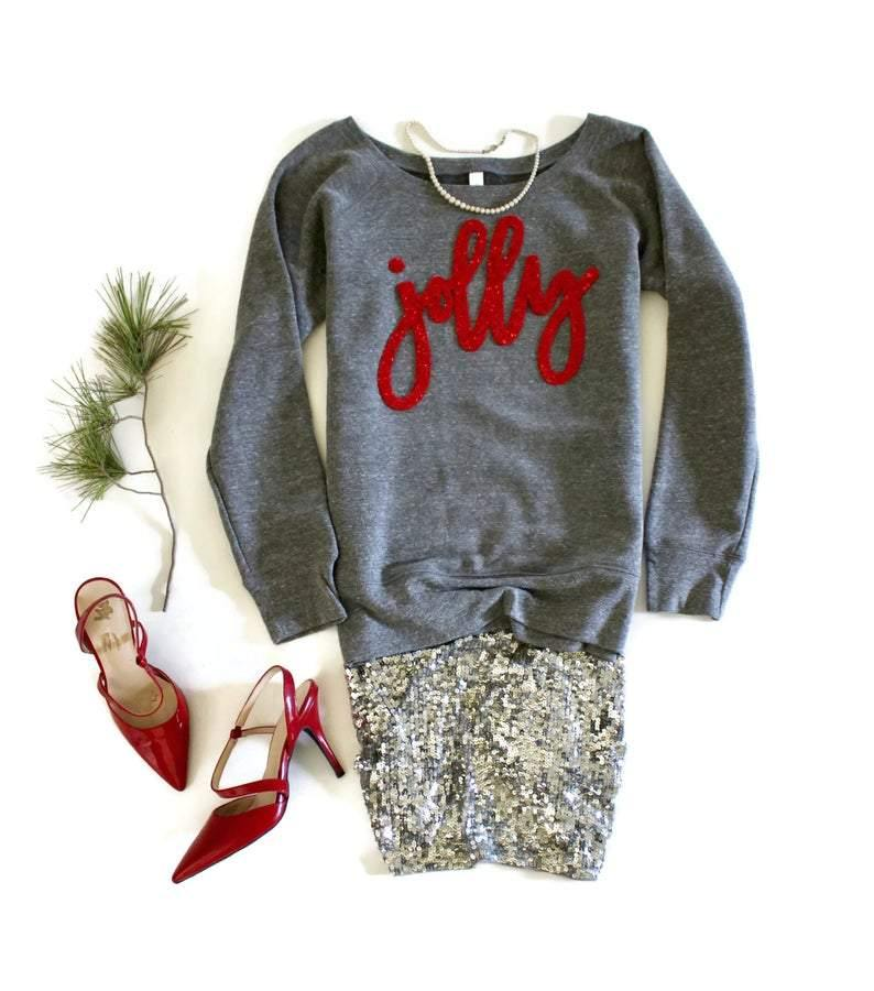 Jolly Holiday Sweatshirt - Shop Love and Bambii