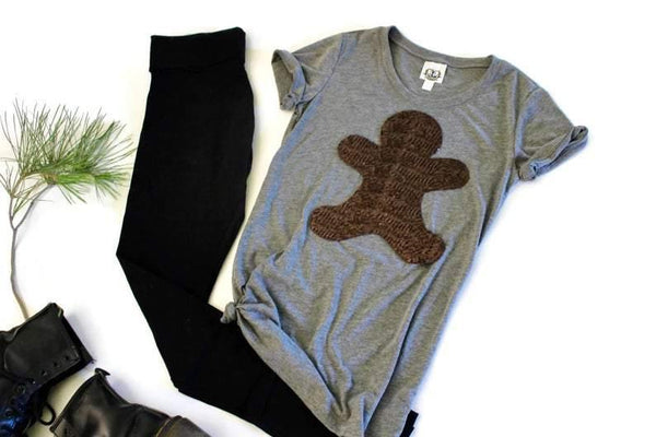Gingerbread Tee Shirt - Shop Love and Bambii