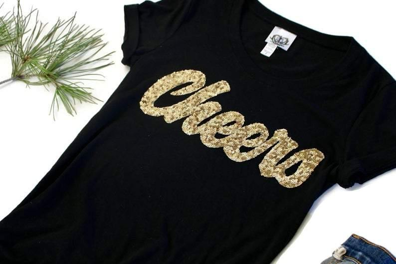 Cheers Tee Shirt - Shop Love and Bambii