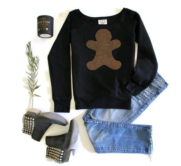 Gingerbread Character Sweatshirt