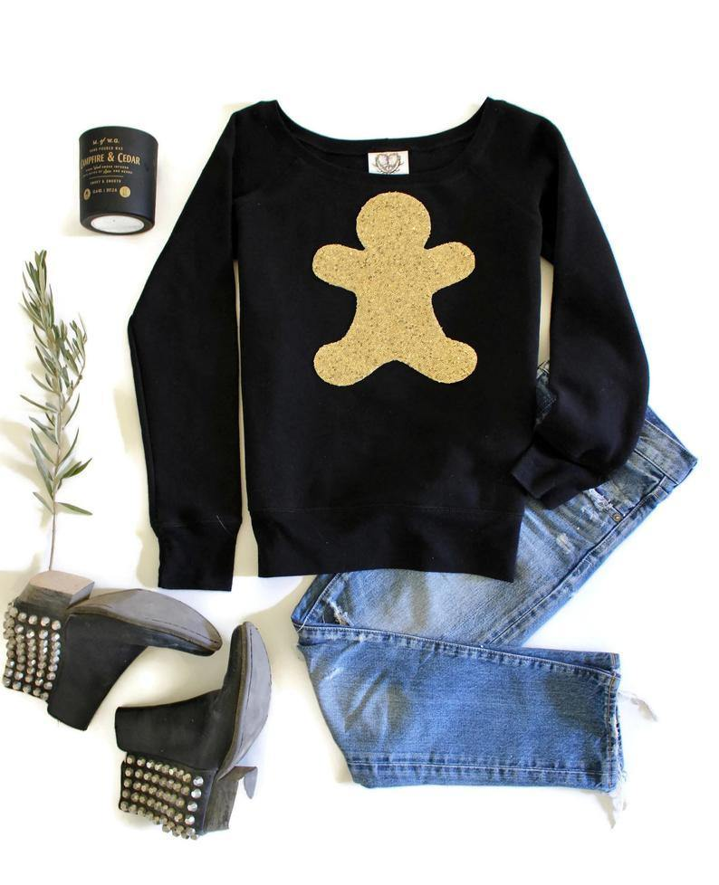 Gingerbread Sweatshirt - Shop Love and Bambii