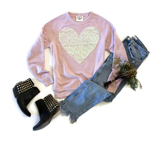 Large Heart Sweatshirt