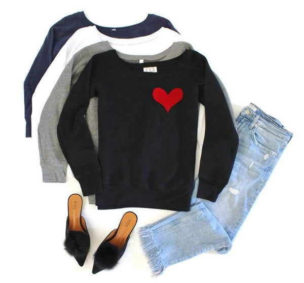 Pocket Heart Sweatshirt