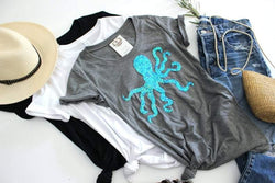 Octopus Tee Shirt - Shop Love and Bambii