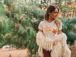 Fall Leaves Tee Shirt - Shop Love and Bambii