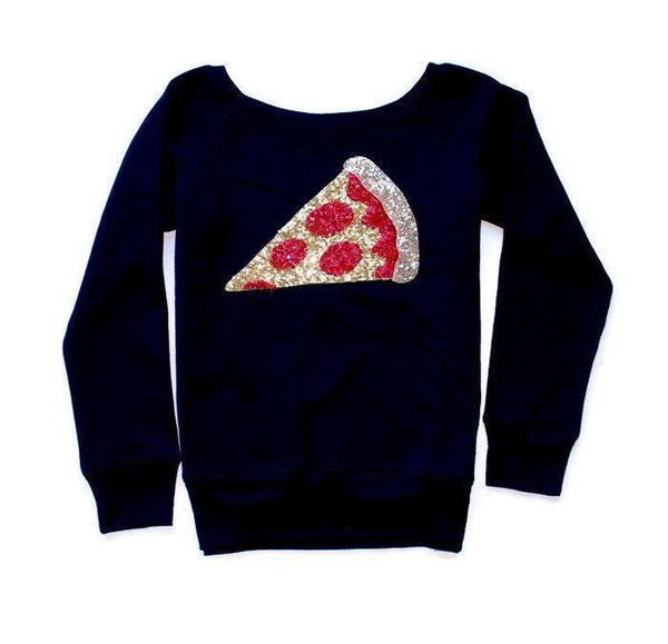 Pizza Sweatshirt - Shop Love and Bambii