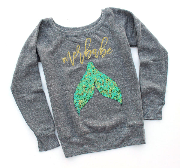 Merbabe Sweatshirt - Shop Love and Bambii