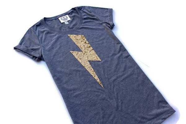 Lightning Bolt Tee Shirt - Shop Love and Bambii