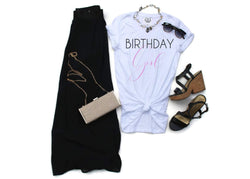 Birthday Girl Tee Shirt - Shop Love and Bambii