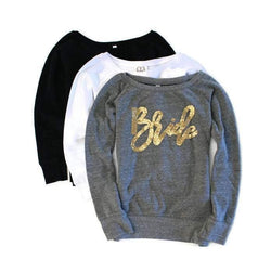 Bride Sweatshirt - Shop Love and Bambii