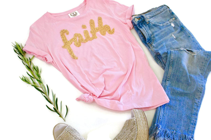 Christian Faith Tee Shirt - Shop Love and Bambii