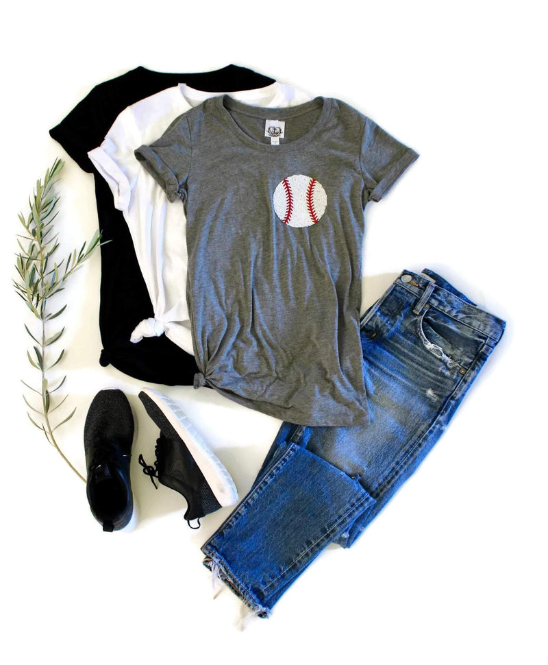 Baseball Pocket Tee Shirt - Shop Love and Bambii