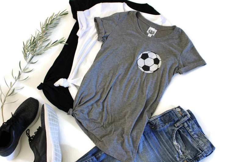 Soccer Pocket Tee Shirt - Shop Love and Bambii