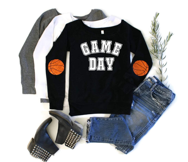Game Day Basketball Sweatshirt - Shop Love and Bambii