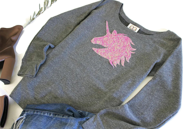 Unicorn Sweatshirt - Shop Love and Bambii