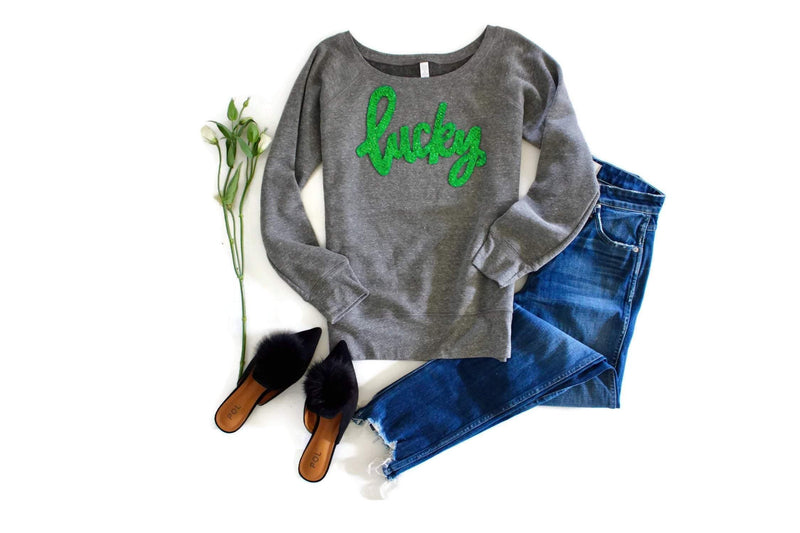 Lucky Sweatshirt - Shop Love and Bambii