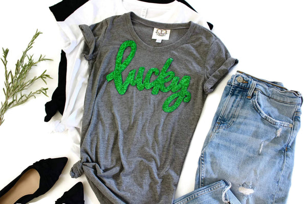 Lucky Tee Shirt - Shop Love and Bambii
