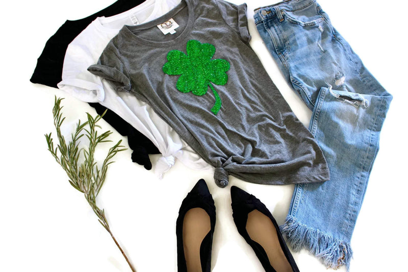 Shamrock Tee Shirt - Shop Love and Bambii