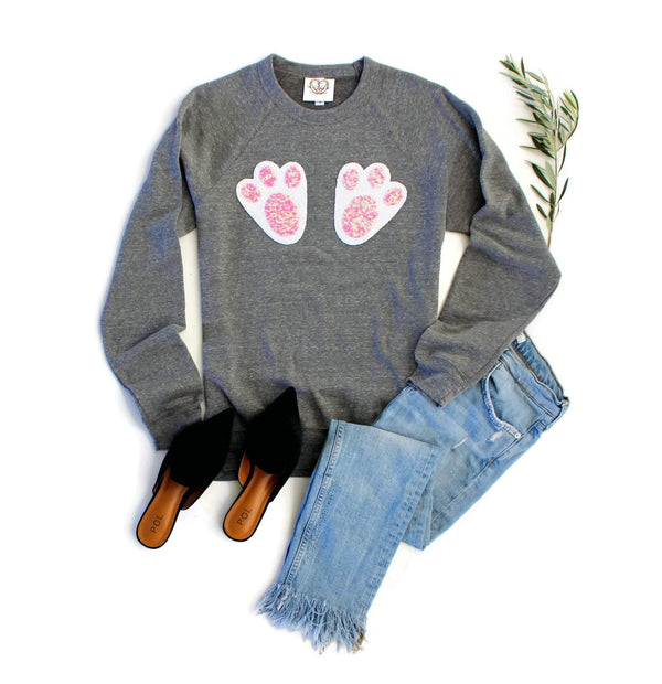 Easter Bunny Feet Sweatshirt - Shop Love and Bambii