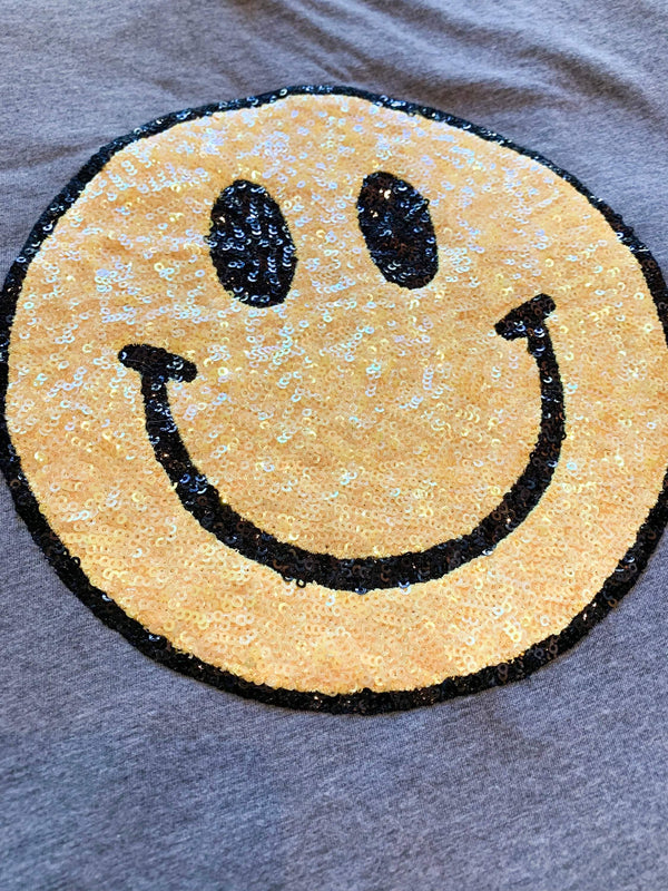 Smiley Face Tee Shirt - Shop Love and Bambii