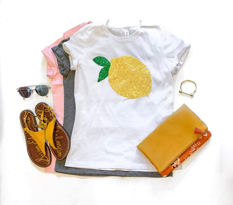Lemon Tee Shirt - Shop Love and Bambii