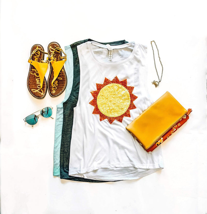 Pre-made Sale Sunshine Muscle Tank - S